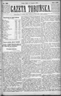 Gazeta Toruńska 1880, R. 14 nr 261