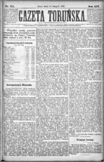 Gazeta Toruńska 1880, R. 14 nr 271