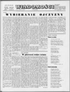 Wiadomości, R. 29 nr 32 (1481), 1974