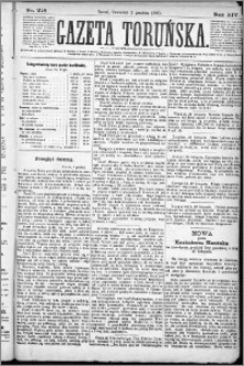 Gazeta Toruńska 1880, R. 14 nr 278