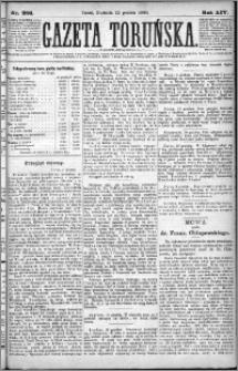 Gazeta Toruńska 1880, R. 14 nr 286 + dodatek