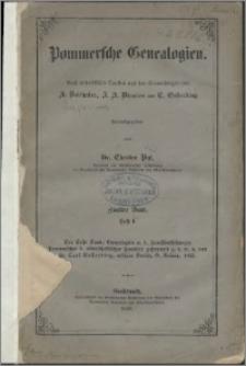 Pommersche Genealogien. Bd. 2, H. 1-2