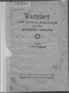 Warmiacy wśród świeckiego duchowieństwa diecezji chełmińskiej i pomorskiej