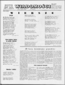 Wiadomości, R. 29 nr 42 (1491), 1974