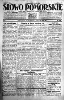 Słowo Pomorskie 1929.08.11 R.9 nr 184