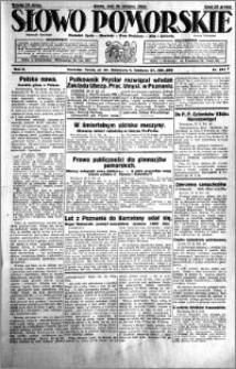 Słowo Pomorskie 1929.08.28 R.9 nr 197