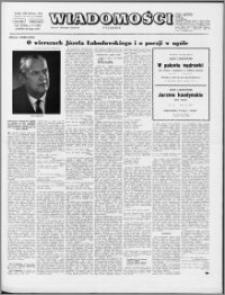 Wiadomości, R. 28 nr 8 (1404), 1973