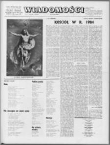 Wiadomości, R. 28 nr 15/16 (1411/1412), 1973