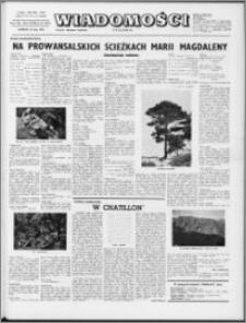 Wiadomości, R. 28 nr 21 (1417), 1973