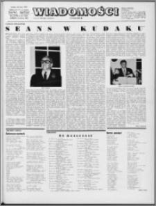 Wiadomości, R. 28 nr 22 (1418), 1973
