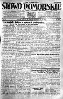 Słowo Pomorskie 1929.11.15 R.9 nr 264