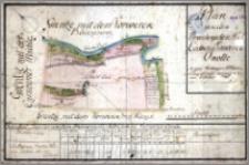 Plan von dem Brombergschen Stadt Cämmerey Vorwerck Okolle