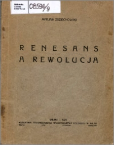 Renesans a rewolucja