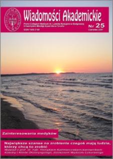 Wiadomości Akademickie 2007 nr 25