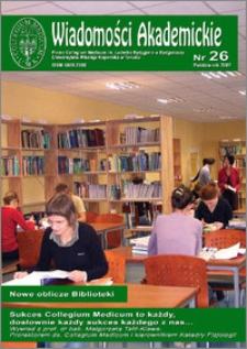 Wiadomości Akademickie 2007 nr 26