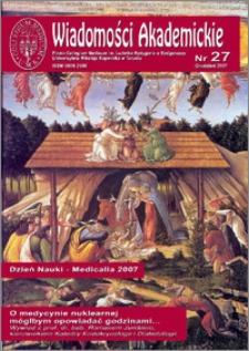 Wiadomości Akademickie 2007 nr 27