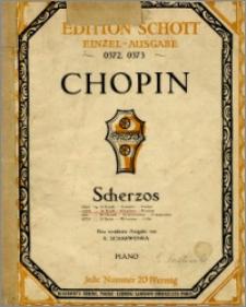 Deuxième Scherzo : Op. 31 : [b-moll : piano]