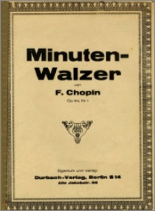 Minuten - Walzer : Op. 64 no. 1 [piano]