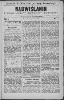 Nadwiślanin : tygodnik handlowy, przemysłowy i ekonomiczny 1873, R. 1 nr 4