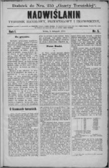 Nadwiślanin : tygodnik handlowy, przemysłowy i ekonomiczny 1873, R. 1 nr 5