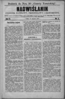 Nadwiślanin : tygodnik handlowy, przemysłowy i ekonomiczny 1874, R. 2 nr 2