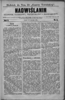 Nadwiślanin : tygodnik handlowy, przemysłowy i ekonomiczny 1874, R. 2 nr 3