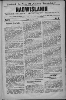 Nadwiślanin : tygodnik handlowy, przemysłowy i ekonomiczny 1874, R. 2 nr 6