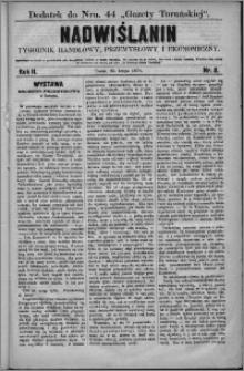 Nadwiślanin : tygodnik handlowy, przemysłowy i ekonomiczny 1874, R. 2 nr 8