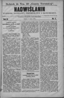 Nadwiślanin : tygodnik handlowy, przemysłowy i ekonomiczny 1874, R. 2 nr 9