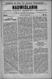 Nadwiślanin : tygodnik handlowy, przemysłowy i ekonomiczny 1874, R. 2 nr 13