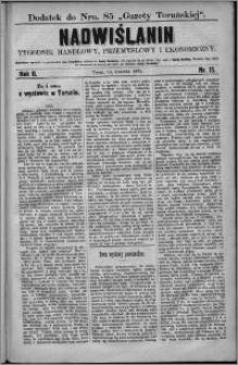 Nadwiślanin : tygodnik handlowy, przemysłowy i ekonomiczny 1874, R. 2 nr 15
