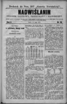 Nadwiślanin : tygodnik handlowy, przemysłowy i ekonomiczny 1874, R. 2 nr 19
