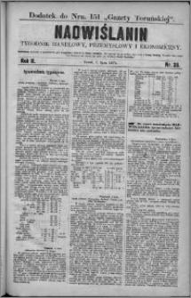 Nadwiślanin : tygodnik handlowy, przemysłowy i ekonomiczny 1874, R. 2 nr 26