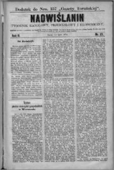 Nadwiślanin : tygodnik handlowy, przemysłowy i ekonomiczny 1874, R. 2 nr 27