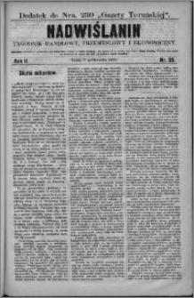 Nadwiślanin : tygodnik handlowy, przemysłowy i ekonomiczny 1874, R. 2 nr 39