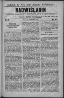 Nadwiślanin : tygodnik handlowy, przemysłowy i ekonomiczny 1874, R. 2 nr 40