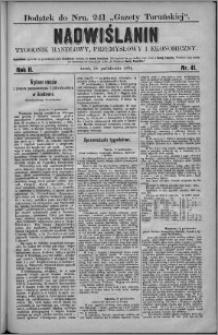 Nadwiślanin : tygodnik handlowy, przemysłowy i ekonomiczny 1874, R. 2 nr 41