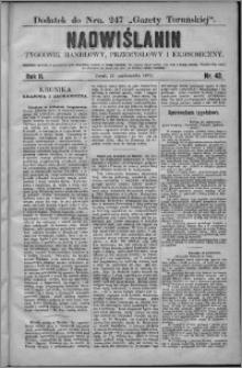 Nadwiślanin : tygodnik handlowy, przemysłowy i ekonomiczny 1874, R. 2 nr 42