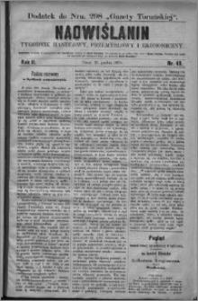 Nadwiślanin : tygodnik handlowy, przemysłowy i ekonomiczny 1874, R. 2 nr 49