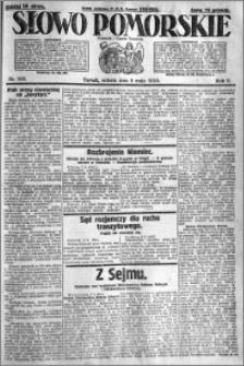 Słowo Pomorskie 1925.05.09 R.5 nr 108