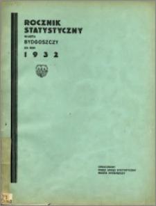Rocznik Statystyczny Miasta Bydgoszczy za rok 1932