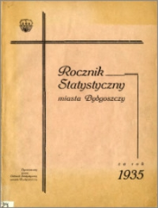 Rocznik Statystyczny Miasta Bydgoszczy za rok 1935