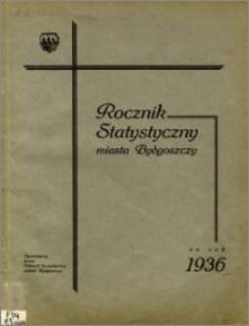 Rocznik Statystyczny Miasta Bydgoszczy za rok 1936