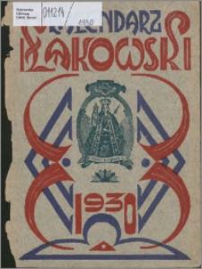 """Kalendarz Łąkowski : bezpłatny dodatek do """"Głosu Mazurskiego"""" na rok 1930"""