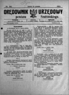 Orędownik Urzędowy powiatu Szubińskiego 1923.12.22 R.4 nr 103