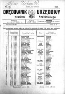 Orędownik Urzędowy powiatu Szubińskiego 1924.04.16 R.5 nr 30