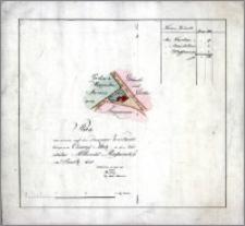 Plan von einem auf der Danziger Vorstadt belegenem Cämmereÿ Platz, so der Vorstäter Albrecht Rosanskÿ in Besitz hat