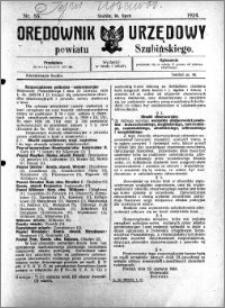 Orędownik Urzędowy powiatu Szubińskiego 1924.07.16 R.5 nr 55