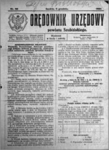 Orędownik Urzędowy powiatu Szubińskiego 1924.12.03 R.5 nr 90