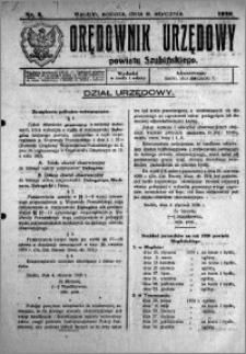 Orędownik Urzędowy powiatu Szubińskiego 1926.01.09 R.7 nr 3